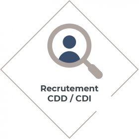 Recrutement CDD ou CDI